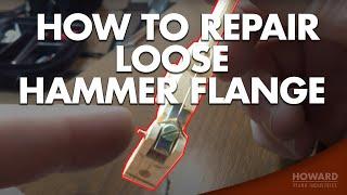 Piano Tuning & Repair - Repairing Loose Hammer Flanges