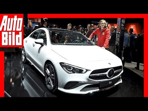 mercedes cla ces 2019 weltpremiere vorstellung. Black Bedroom Furniture Sets. Home Design Ideas