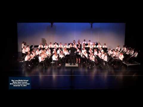 2012 - 12 Bay Lane Middle School Band - Volga Boat Song
