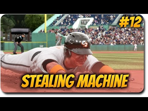"""MLB The Show 17 Road to the Show """"99 Speed Stealing Machine"""" RttS Career Mode Ep.12"""