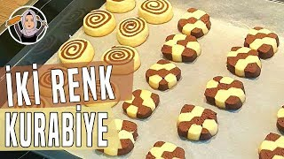 İki renkli kurabiye tarifi hatice mazı ile yemek tarifleri
