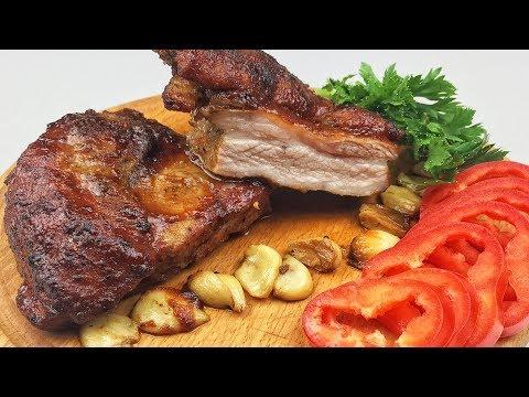 СУПЕР РЕЦЕПТ! Нежнейший подчеревок свиной, просто тает во рту. Рецепт в духовке в медовом соусе