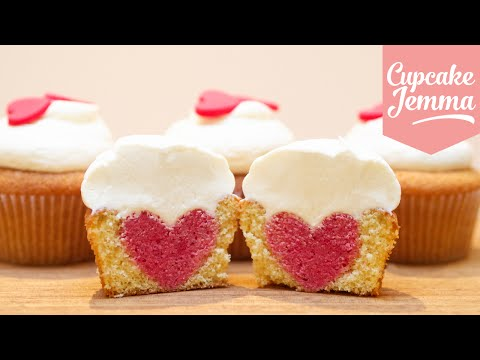 Get How to Bake a Heart Inside a Cupcake | Cupcake Jemma Snapshots