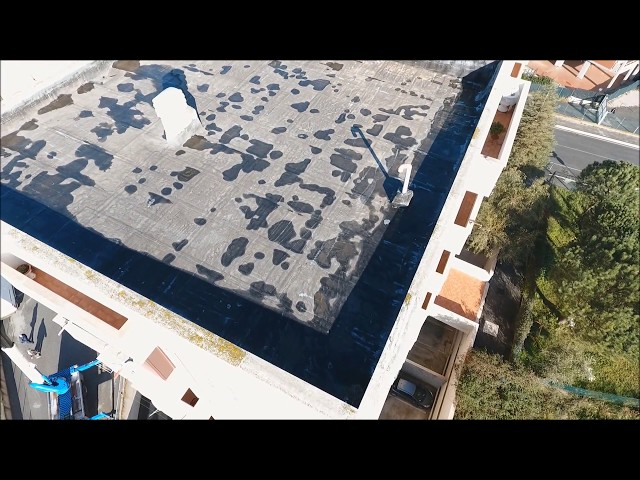 Video Ricognizione Aerea - Edilizia - Facciata Edificio Condominio