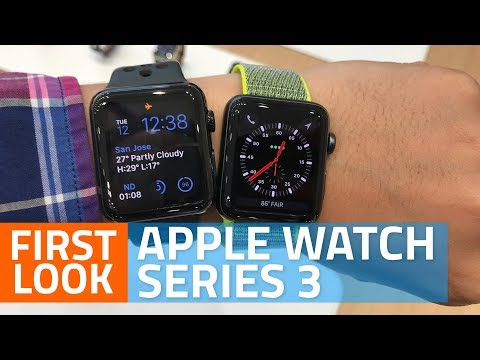 Apple Watch Series 3 First Look | Specs, India Price, Launch Date, And More