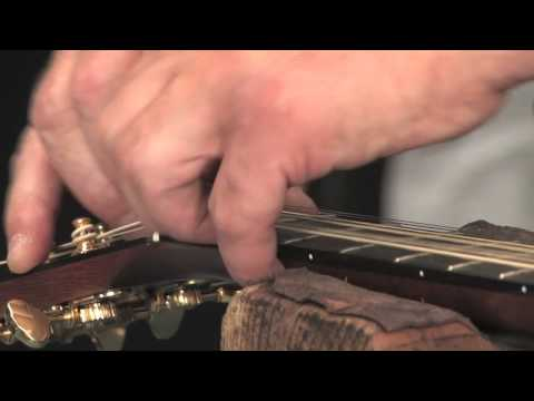 How to Shim Up a Low Nut on an Acoustic Guitar (4 of 4)