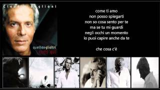 CLAUDIO BAGLIONI - Che cosa c'è