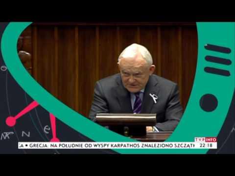 Leszek Miller odpowiada w Sejmie Palikotowi