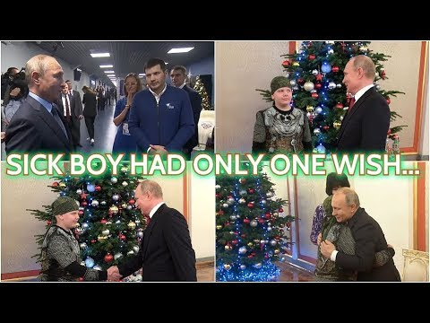 TOUCHING: Putin Almost