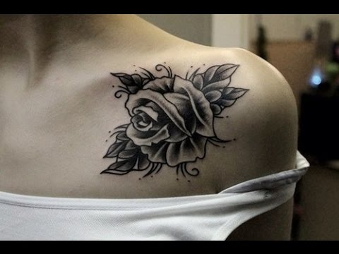 tattoos for girls 32 Beautiful Rose Tattoos for Women / tattoos update/ nice tattoos for girls