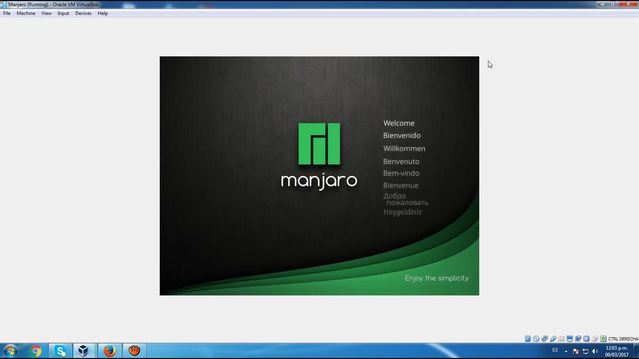 How to Install Manjaro 18 0 2 VirtualBox