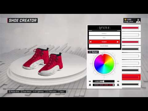 "How to make Jordan 12 ""Gym Red 12"""