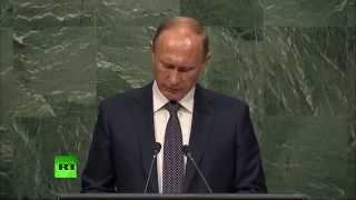 Владимир Путин о глобальном загрязнении Земли на 70 й сессии Генассамблеи ООН