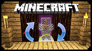 видео Как сделать вешалку в Minecraft: стенд для брони