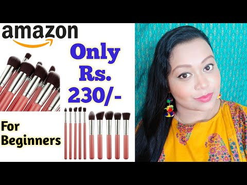 Lowest Cost Makeup Brush Can Work?? #makeupbrush #beginners #Amazonhaul || Makeup Ideas By GK