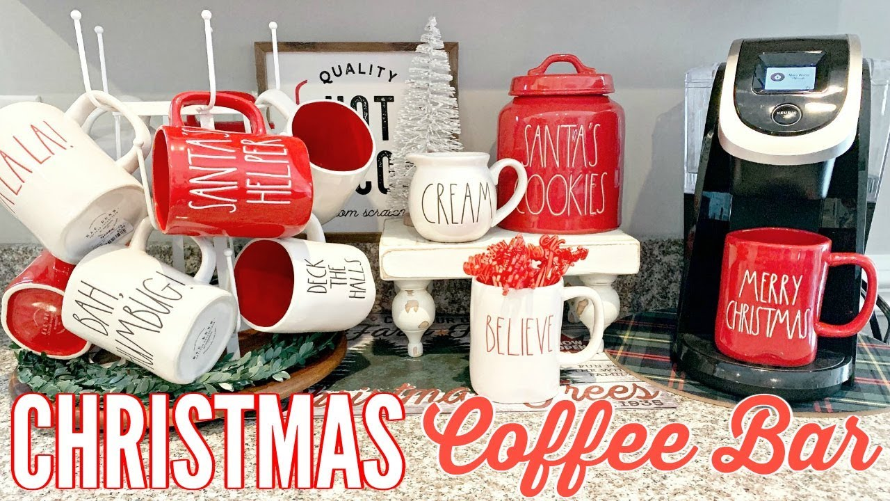 Diy Christmas Coffee Station 2018 Hot Cocoa Bar Ideas Youtube