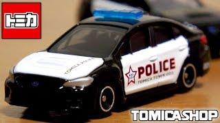 令和最初のトミカショップ オリジナルトミカ スバル WRX S4 海外パトロールカー仕様 tomica shop ORIGINAL MODEL Overseas police car