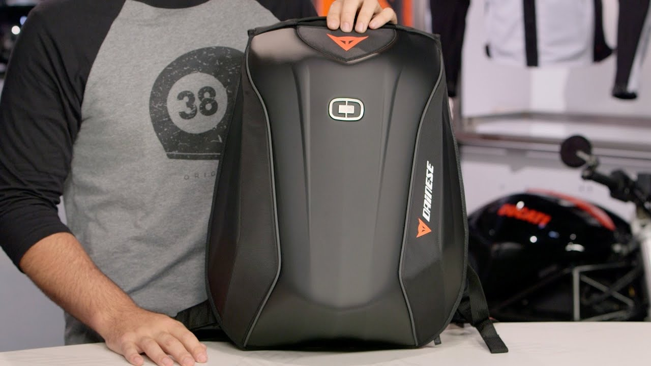 design di qualità bd714 d8725 Dainese D-Mach Backpack Review at RevZilla.com