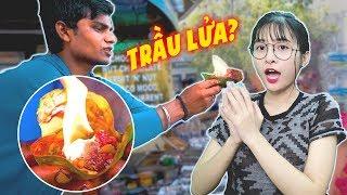 ĂN LỬA Và Những Món Ăn 'Kì Dị' Ở Ấn Độ Khiến Du Khách 'Bỏ Chạy'