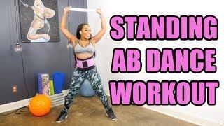 FUN Standing ABS Dance Workout - Keaira LaShae