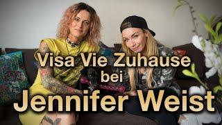 Visa Vie Zuhause bei JENNIFER WEIST- Haustiere, Paranoia, Allergien & Penisse - ZUM GOLDENEN V