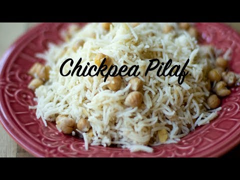 Chickpea (Garbanzo Bean) Pilaf (ready in 30 minutes)