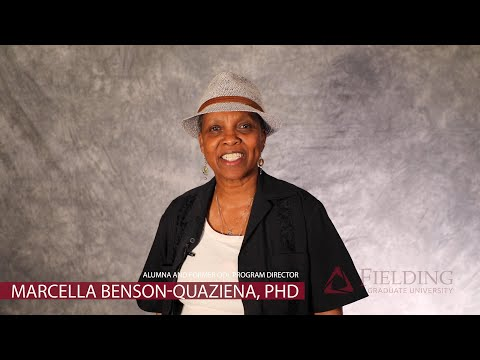 Fielding Graduate University | Director ODL | Marcella Benson-Quaziena, PhD