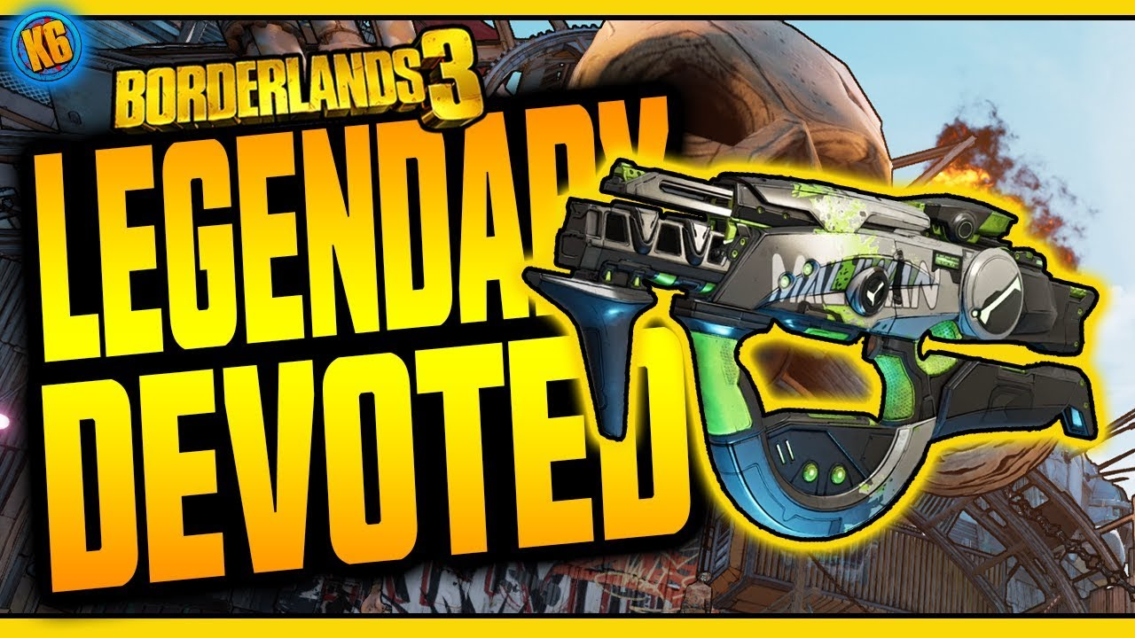 Borderlands 3 | DEVOTED | Legendary Weapon Review thumbnail