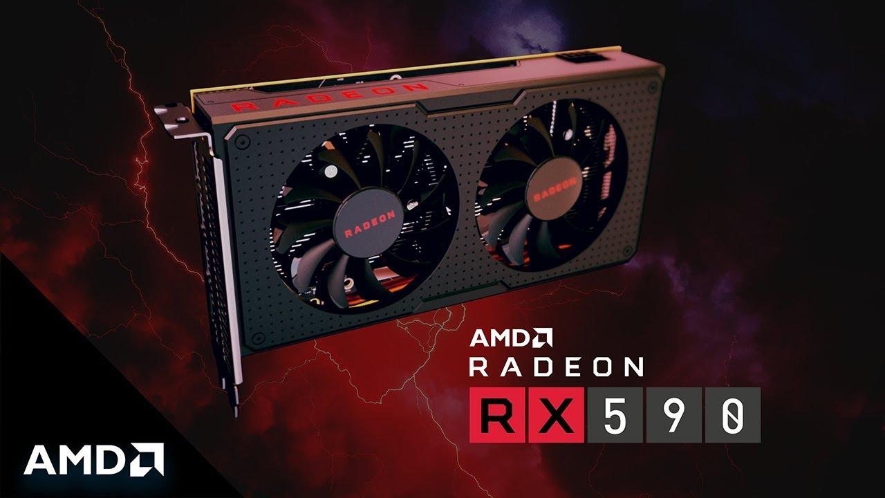 AMD Radeon RX 590 GPU | AMD Graphics Card | AMD