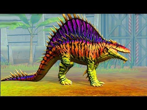 Jurassic World Game Mobile #63: Đột biến OSTAPOSAURUS Siêu Giáp Gai cực trâu