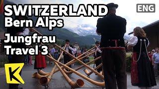 【K】Switzerland Travel-Bern Alps[스위스 여행-베른 알프스]융프라우 여행3-건국기념일/Jungfrau/National Foundation Day