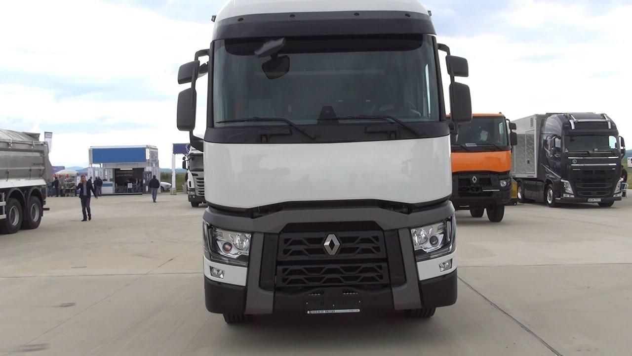 Renault T 460 : renault trucks premium t 460 tractor truck exterior and interior in 3d 4k uhd youtube ~ Gottalentnigeria.com Avis de Voitures