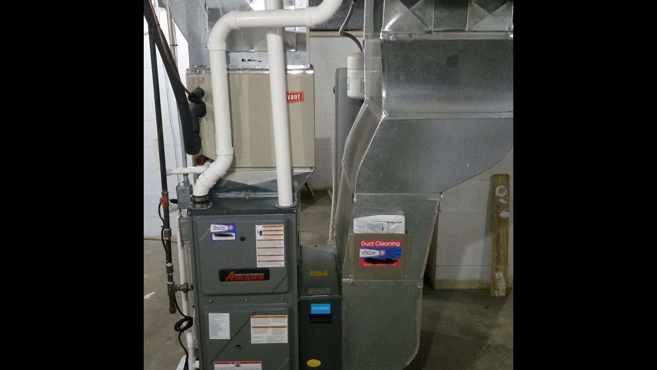 Amana AMVC96 Natural Gas Furnace Review - YouTube