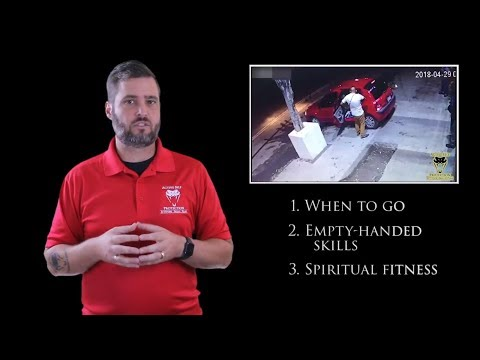 Bouncer Who Needed Spiritual Fitness  Active Self Protection