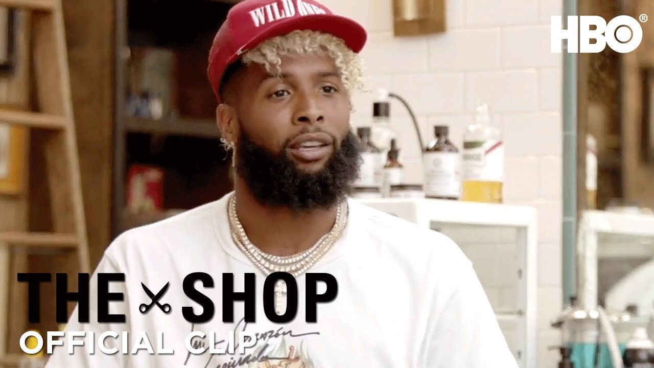 promo code 4808d 8ae76 'Odell Beckham Jr. on Being in the Spotlight' Official Clip | The Shop | HBO