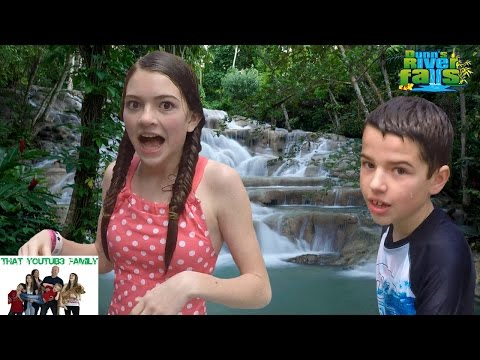 We Climbed Dunn's River Falls - Jamaica / That YouTub3 Family