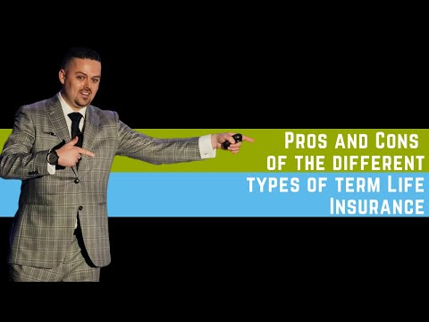 Pros and Cons of The Different Types of Term Life Insurance