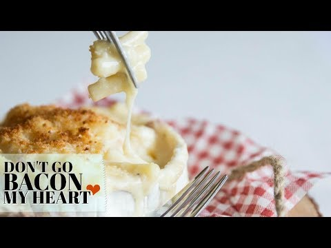 Baked Camembert Mac and Cheese