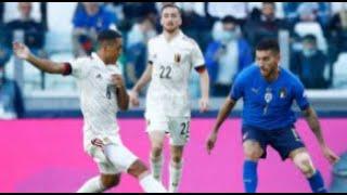 Italia Belgio 2-1 - Recensione partita - UEFA NATIONS LEAGUE - 2021