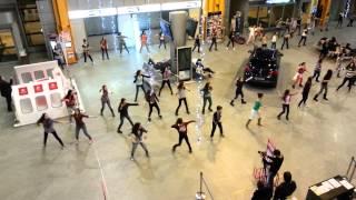 Flashmob aeroport Cluj