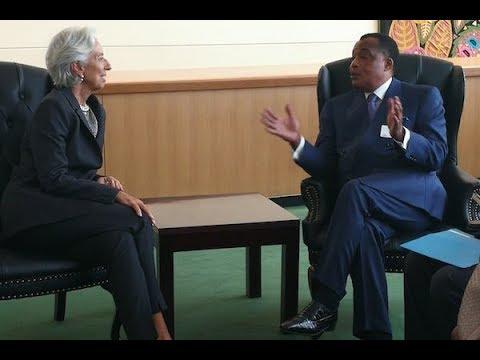 SANCTION!!! CONGO BRAZZAVILLE , UNE DETTE DE 5400MILLIARDS , LE FMI MET EN GARDE