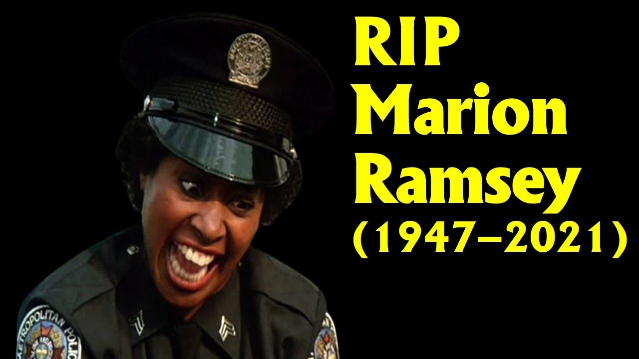 Marion Ramsey Dies: 'Police Academy's Officer Hooks & Broadway ...