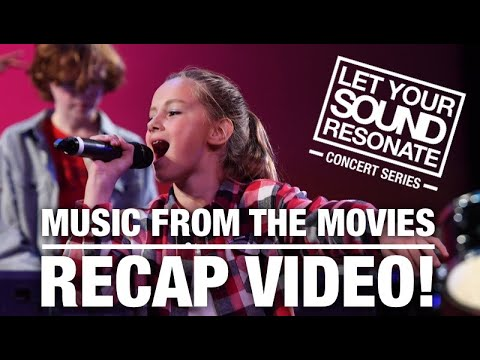 Music From The Movies Concert Recap - Let Your Sound Resonate Concert Series 02 - Resonate Music