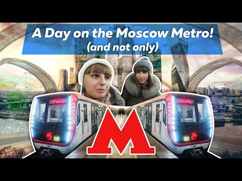 🚆 A Day on the World's Most Beautiful Metro! (Moscow)