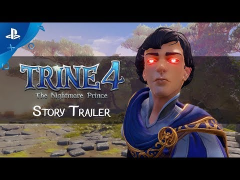 Trine 4: The Nightmare Prince - Story Trailer | PS4