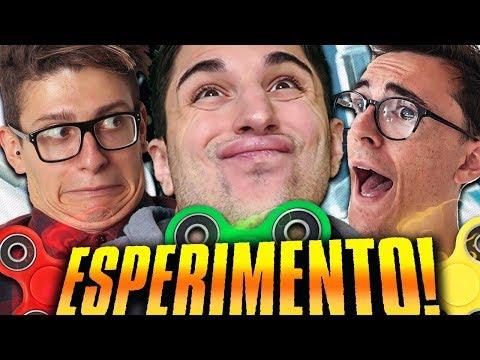 """INVENZIONI CON I FIDGET SPINNER!! """"ESPERIMENTI"""" INSIEME AI MATES!"""