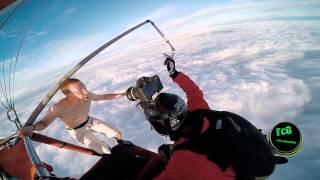 Hombre Se Lanza Al Vacio Sin paracaidas Y es Atrapado