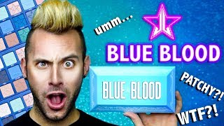 REALLY?! NO BULLSH*T Jeffree Star BLUE BLOOD Shadow Palette Review