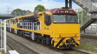 Trial run of QRN 6000 class locomotives 6002 + 6003, with SSR livery G514 assisting - PoathTV