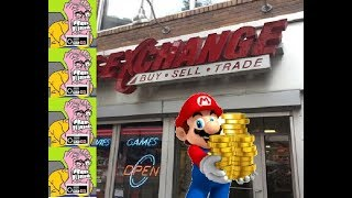 THE EXCHANGE Buy Sell Trade ( Store tour ) Video Game X-Change